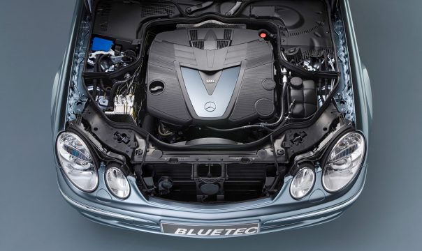 OM 642 – engine with BlueTEC system