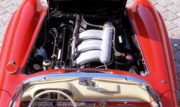 M 198 – the heart of Mercedes 300 SL