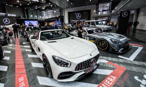 Mercedes-Benz at the Poznań Motor Show 2017